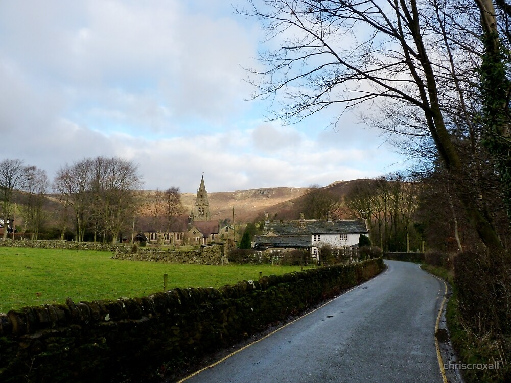 Edale Village by chriscroxall