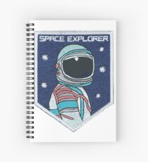 Astronaut Patch Spiral Notebook