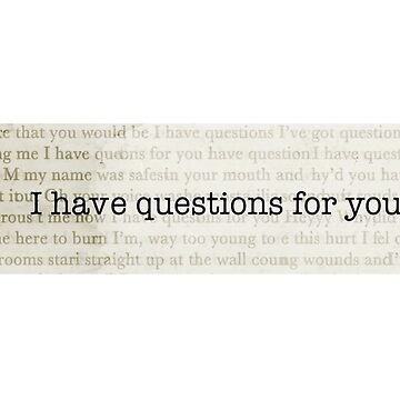 Camila Cabello - I HAVE QUESTIONS FOR YOU by Mirsagl