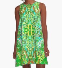 Florida Grapes A-Line Dress