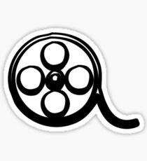 Reel Shade - Film Reel Sticker