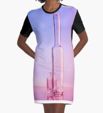 Still Life with Bottles Graphic T-Shirt Dress