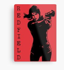 Claire Redfield Resident Evil 2 Metal Print