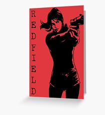 Claire Redfield Resident Evil 2 Greeting Card