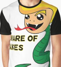 Beware of Snakes (Donald Trump) Graphic T-Shirt