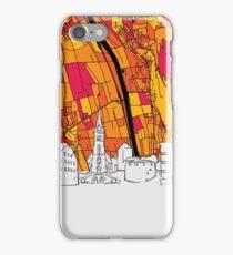 Vaduz Skyline Map iPhone Case/Skin