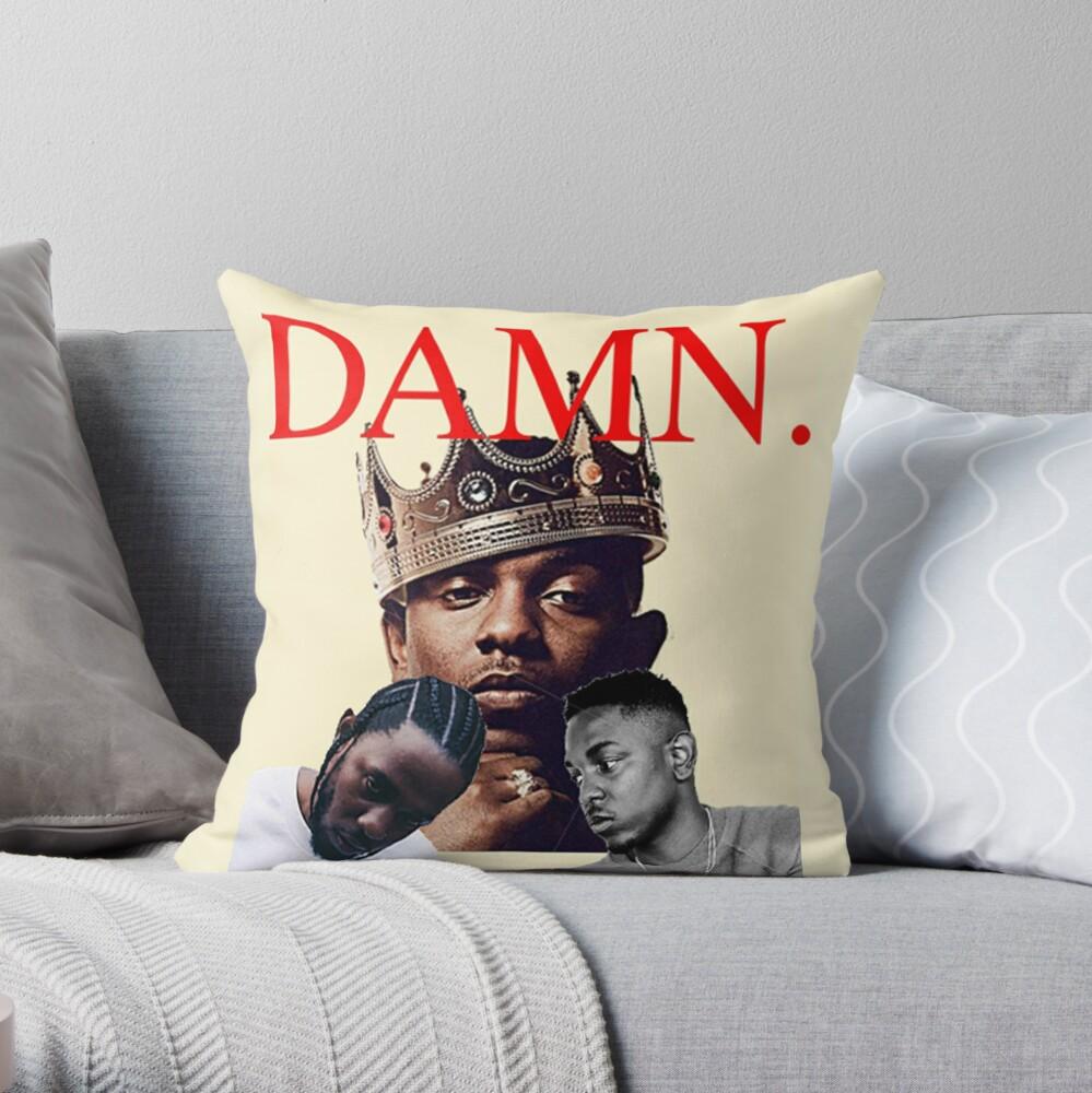 Kendrick Lamar Appreciation Throw Pillow By Mikeymiddleton Redbubble