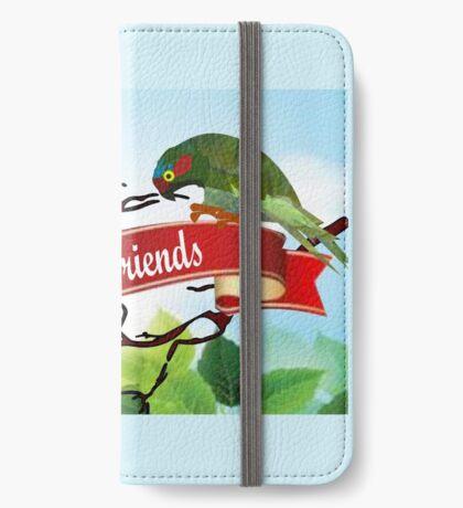 Best Friends (2548 views) iPhone Wallet