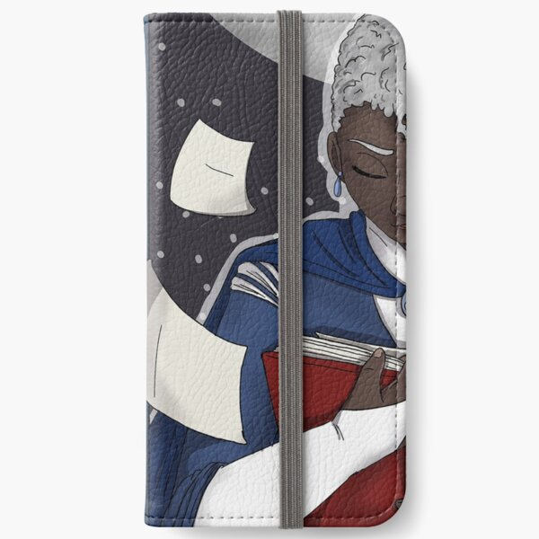 The Lonely Journal-Keeper iPhone Wallet