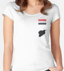 Syria Women's Fitted Scoop T-Shirt