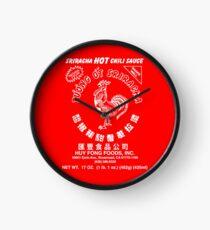 Sriracha Hot Chili Sauce Clock