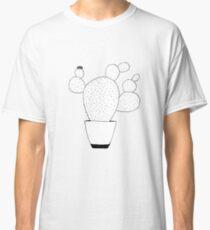 Prickly Pear Line Art Illustration Classic T-Shirt