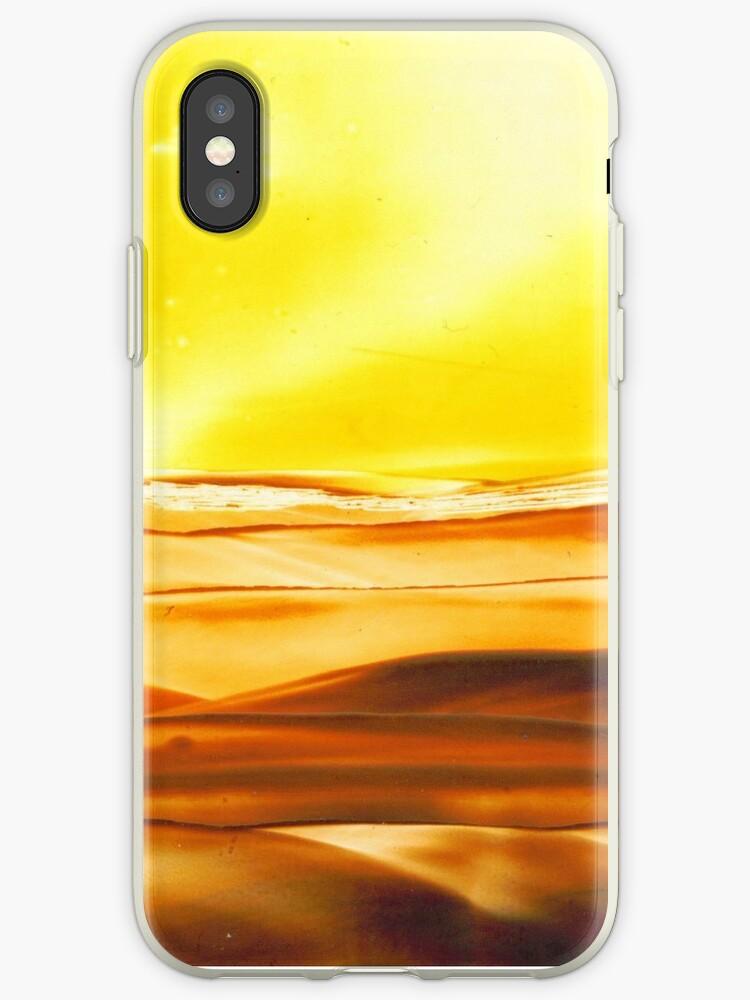 Encaustic Gold iPhone by patjila