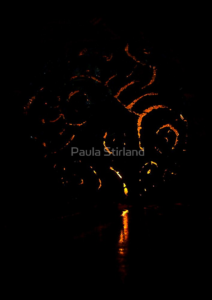 By candle light by Paula Stirland
