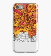 Luxembourg Skyline Map iPhone Case/Skin