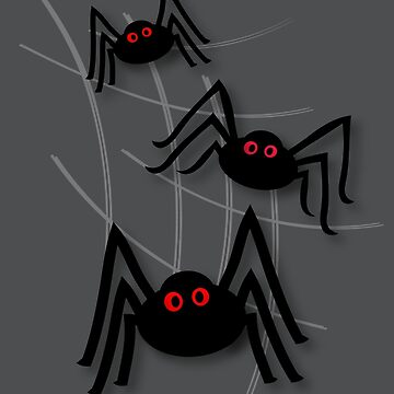 Creepy Spider Invasion by patjila