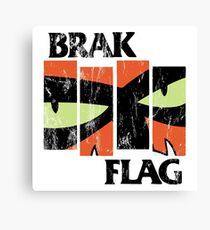 Brak Flag Canvas Print