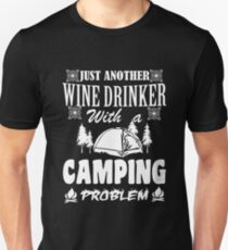 LOVE LOVE LOVE my wine at the campsite Unisex T-Shirt