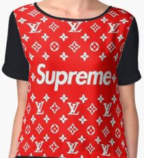louis vuitton - supreme Chiffon Top