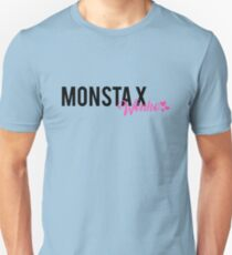 Monsta X Wonho Text Design Unisex T-Shirt