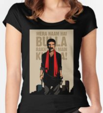 Bulla Fan Poster Women's Fitted Scoop T-Shirt