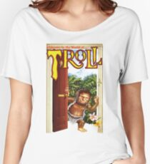 TROLL VINTAGE VHS ART Women's Relaxed Fit T-Shirt