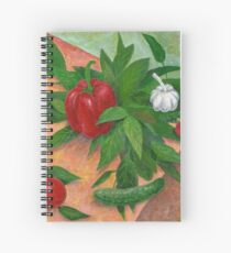 still life with pepper Spiral Notebook