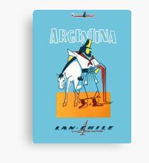 Argentina Lan - Chile Canvas Print