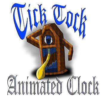 Tick Tock Animated Clock by Shadowrun312