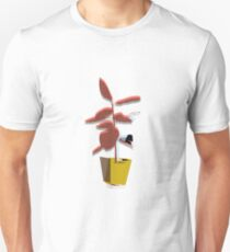 Potted Palm - Charcoal Unisex T-Shirt