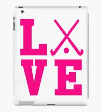 Love Field Hockey iPad Case/Skin