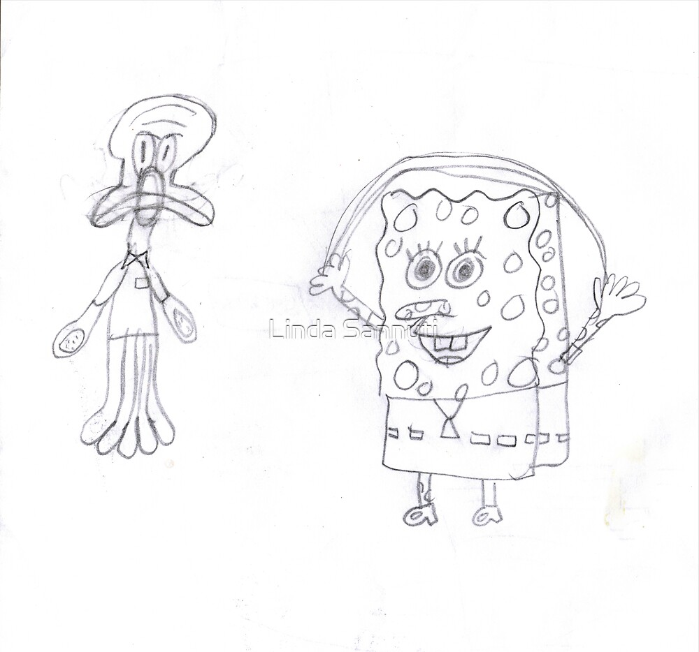 spongebob and friends by Linda Sannuti