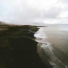 Moody black sand beach in Iceland - Landscape Photography by Michael Schauer
