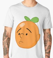 Karl Pilkington Head Like An Orange  Men's Premium T-Shirt