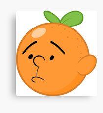 Karl Pilkington Head Like An Orange  Canvas Print