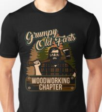 Grumpy Old Farts Woodworking Chapter Shirt Unisex T-Shirt