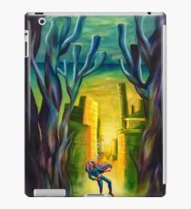 Weight of living iPad Case/Skin