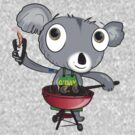 aussie koala by flamingrhino