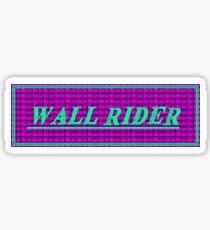 "Wall Rider ""Ride The Walrus"" Slap Sticker Sticker"
