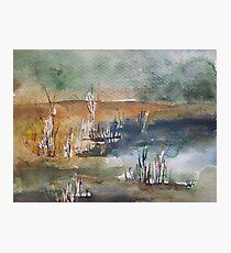 lagoon Photographic Print