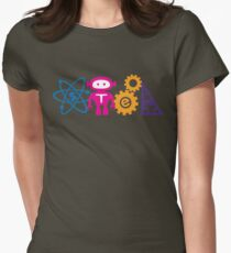 STEM! Womens Fitted T-Shirt