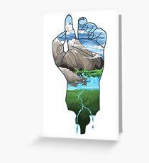 Bleeding Greeting Card