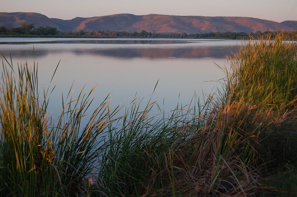 Lake Kununurra dawn, Kununurra WA by obiwan