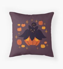 Fall Pumpkaboo Pumpkin Single Throw Pillow
