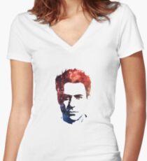 Robert Downey Jr Women's Fitted V-Neck T-Shirt