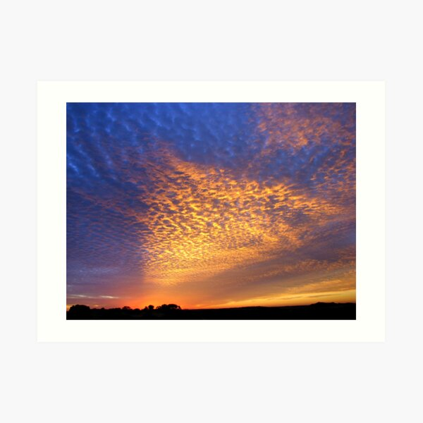 Cloud Shadow 2 Art Print