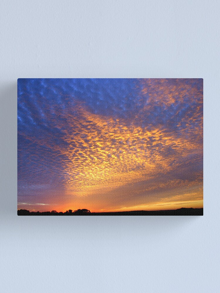 Alternate view of Cloud Shadow 2 Canvas Print
