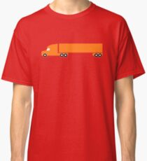 Orange Big Rig Classic T-Shirt