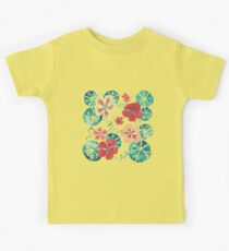 Watercolor Nasturtiums: In the Still of the Night Kids Tee