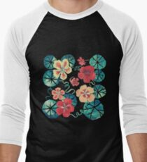 Watercolor Nasturtiums: In the Still of the Night T-Shirt